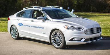 Ford setzt voll auf Roboterautos