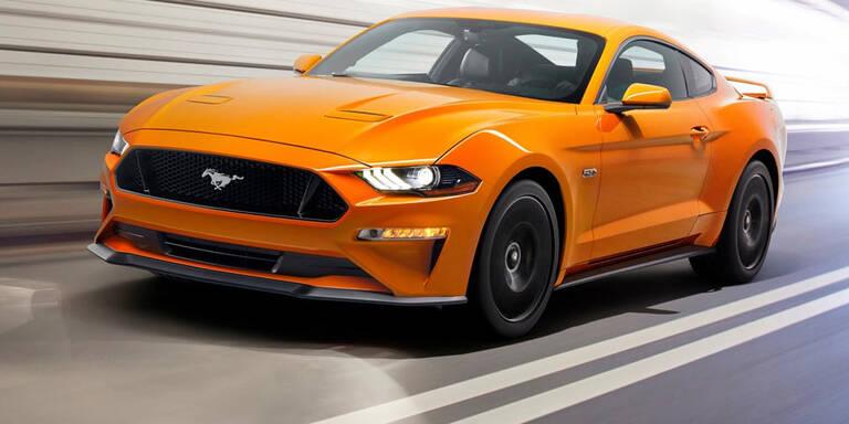 Ford verpasst dem Mustang ein Facelift