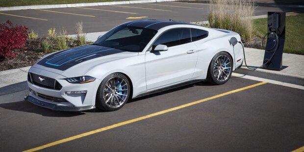 Ford stellt elektrischen Mustang vor