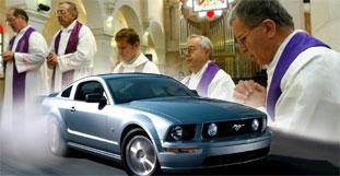 Christlicher Prediger gründet Ford-Mustang-Kirche