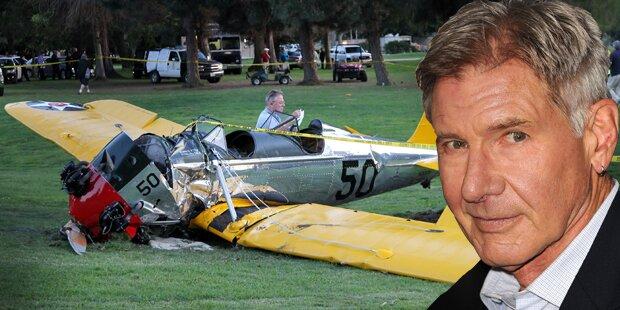 Harrison Ford mit Flugzeug abgestürzt