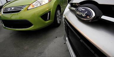 Ford ruft 450.000 Autos zurück