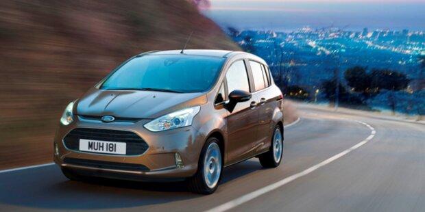 Ford B-Max: Alle Österreich-Informationen