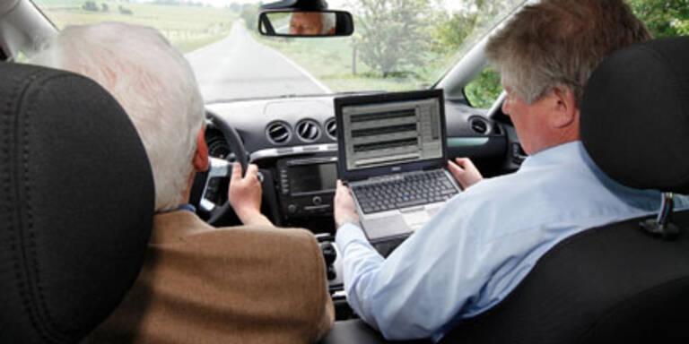 Autositz überwacht Herzaktivität des Fahrers