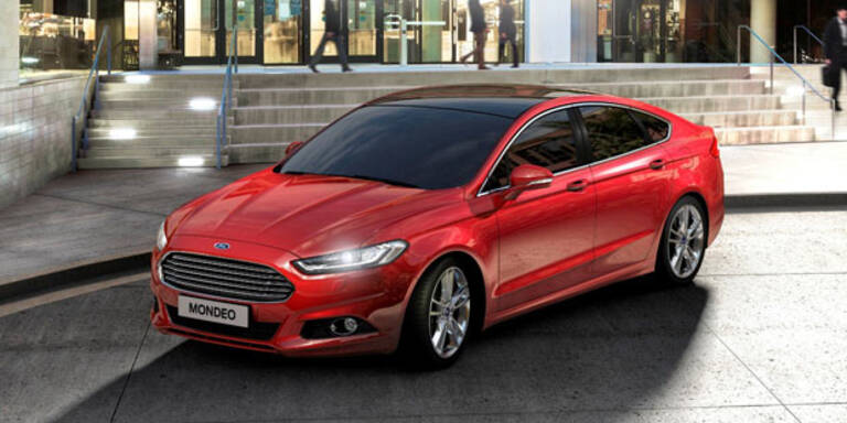 Neuer Ford Mondeo ab sofort bestellbar