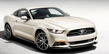 """Ford bringt Mustang """"50 Year Limited Edition"""""""