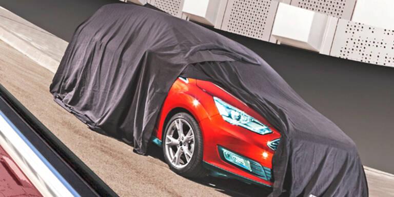 Ford gibt Blick auf neuen C-Max
