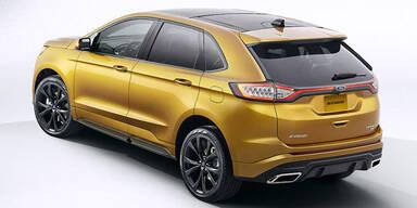 Ford Edge S greift Touareg, X5 & Co an