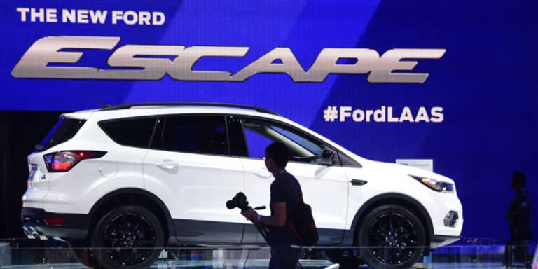 Baut Ford mit Google ein Auto?