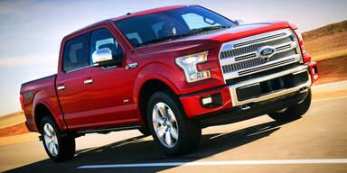 Ford baut neuen F-150 Pick-up aus Alu