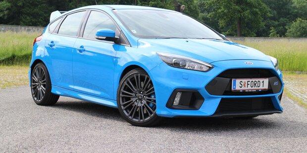 Der Ford Focus RS im Alltagstest
