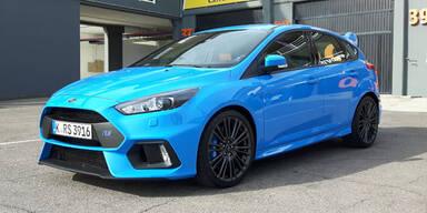 Neuer Ford Focus RS im Test