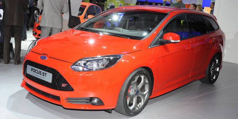 Ford Focus ST und Fiesta ST Concept
