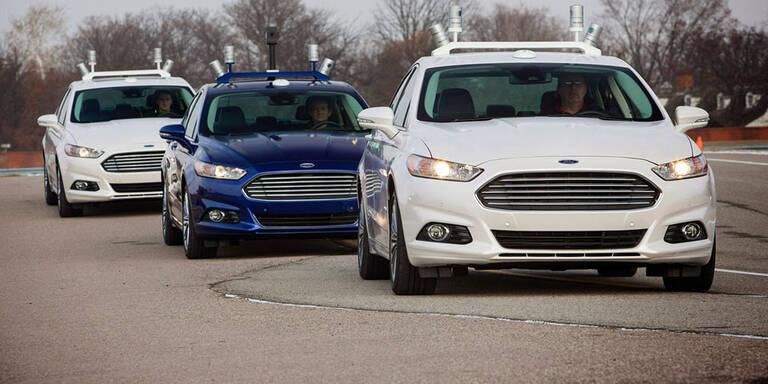 Ford bringt 2021 selbstfahrende Autos