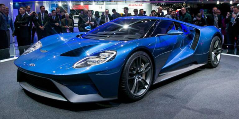 Ford GT feiert grandioses Comeback