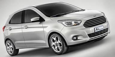 Ford stellt den neuen Ka vor