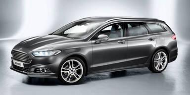 So kommt der neue Ford Mondeo Kombi