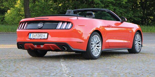 Offener Ford Mustang V8 GT im Test