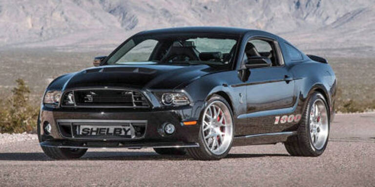 Shelby zeigt Mustang mit 1.200 PS