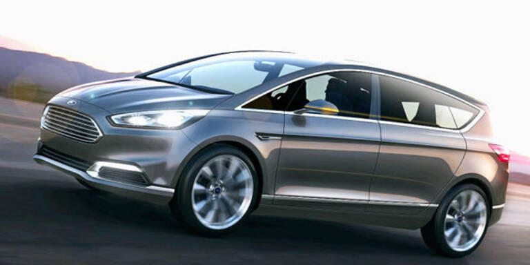 So kommt der nächste Ford S-Max