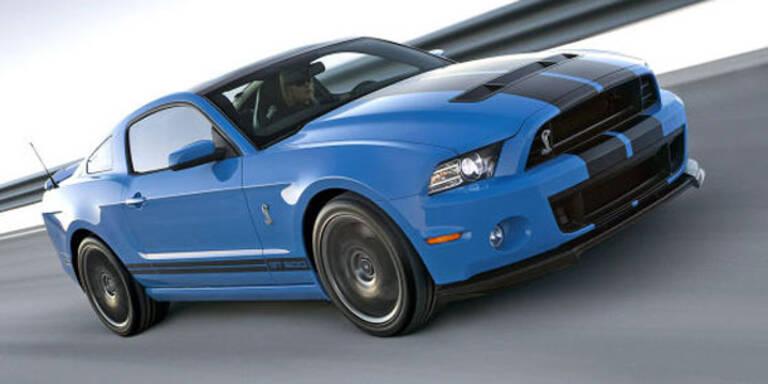 Ford Mustang Shelby GT500 Modelljahr 2012