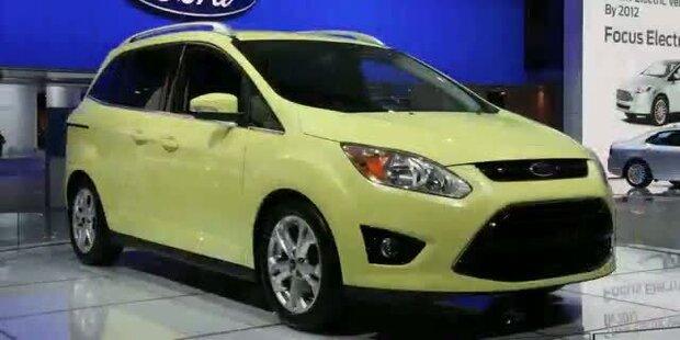 Ford stellt Hybrid-Version des C-Max vor