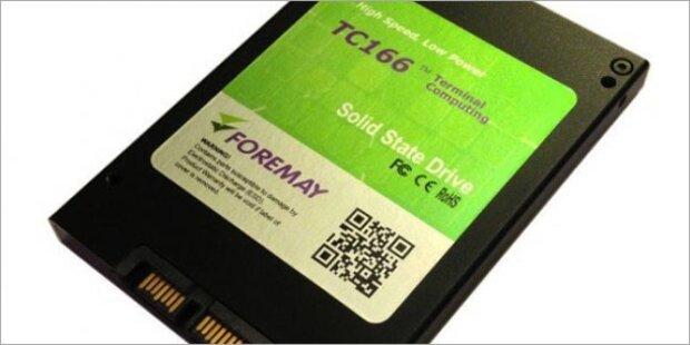 Foremay bringt SSDs mit 2 und 4 Terabyte