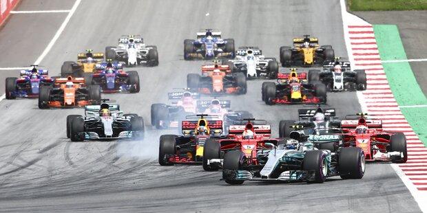 F1 Startaufstellung