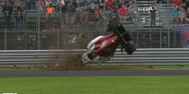 Horror-Crash bei Formel-1-Training
