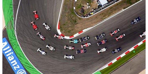 Deutsche ohne Führerschein auf Formel-1-Strecke