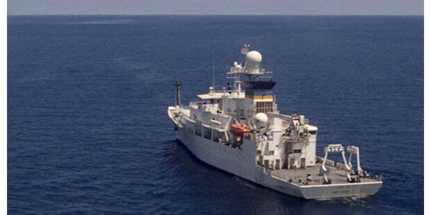 US-Schiff ortet Black Box in der Javasee