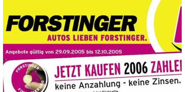 Alcar kauft Autozubehörkette Forstinger