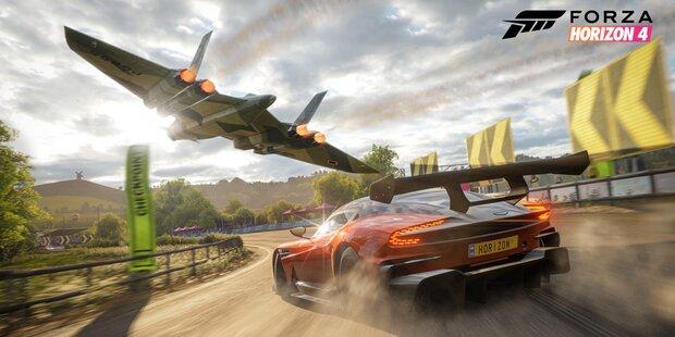 Jetzt gibt Forza Horizon 4 Gas