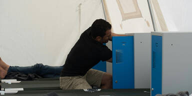 So leben die Zelt-Flüchtlinge