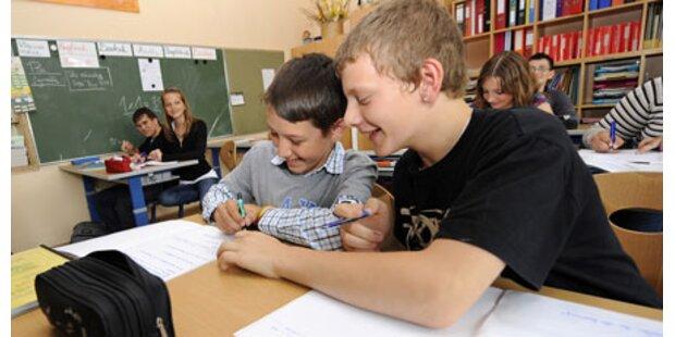 Ansturm auf Neue Mittelschule