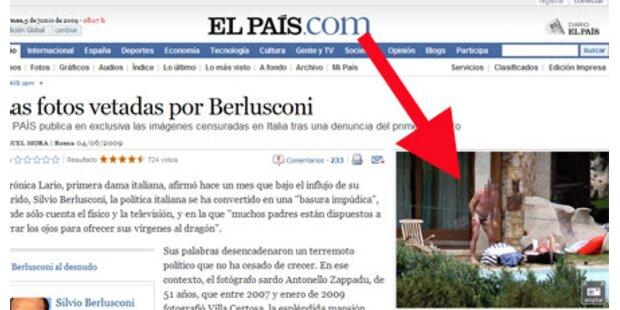 Berlusconis Gäste feierten nackt am Pool