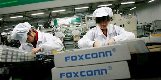 Foxconn-Handysparte fährt Verluste ein
