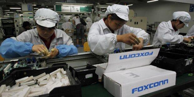 iPhone 5-Fabrik in China wieder geöffnet