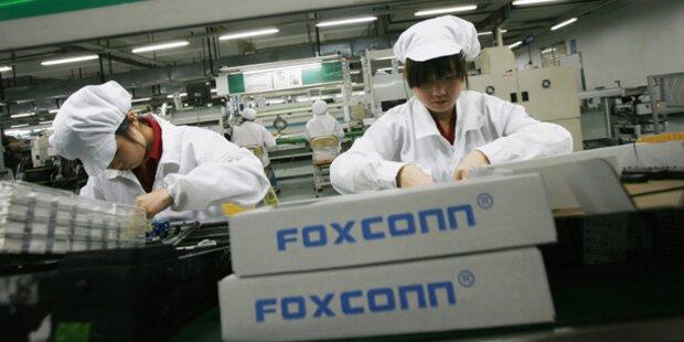 Arbeitsbedingungen bei Foxconn verbessert