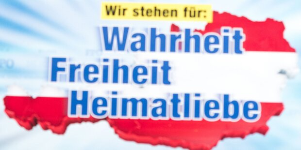 FPÖ-Wahlplakate entfernt