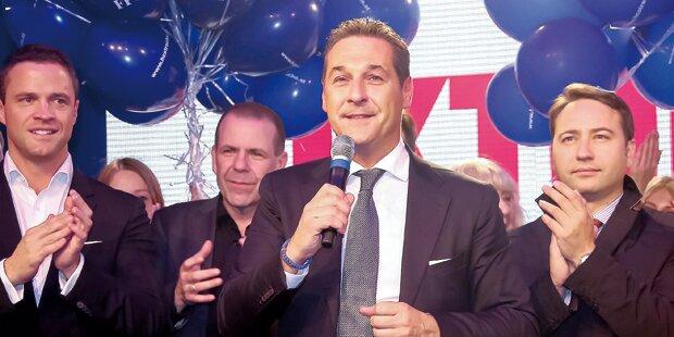 Siege bringen FPÖ 48 Millionen