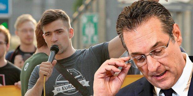 FPÖ prüft jetzt blaue Kontakte zu Identitären