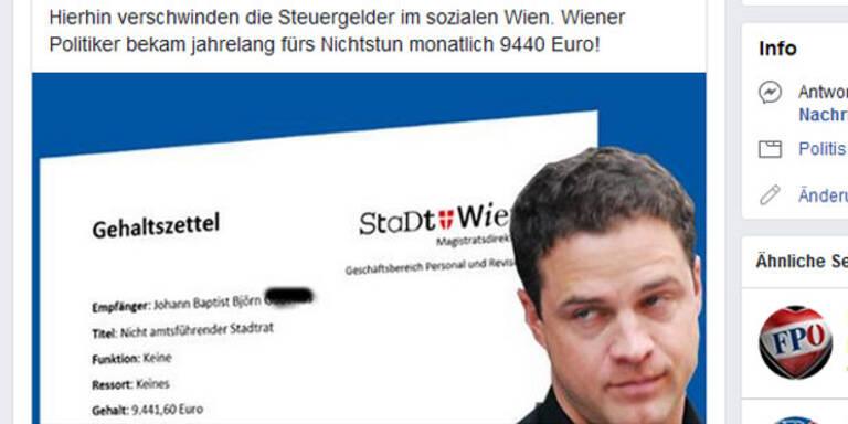 FPÖ-Ortsgruppe fällt auf Satirebeitrag rein