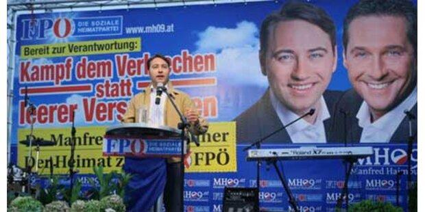 2.000 FPÖ-Fans bei Wahlkampfauftakt