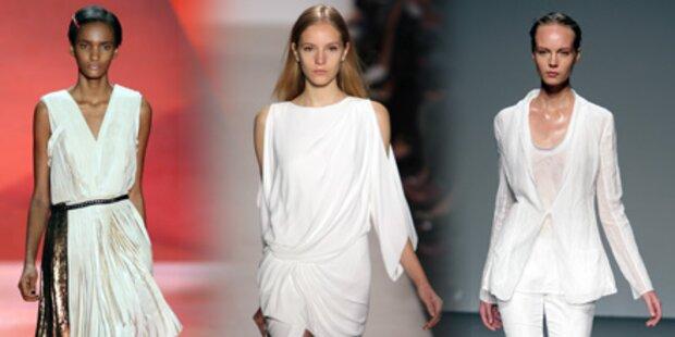 Fashion in weiß ist der Frühlings-Hit!