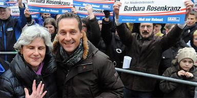 Heinz-Christian Strache; Barbara Rosenkranz