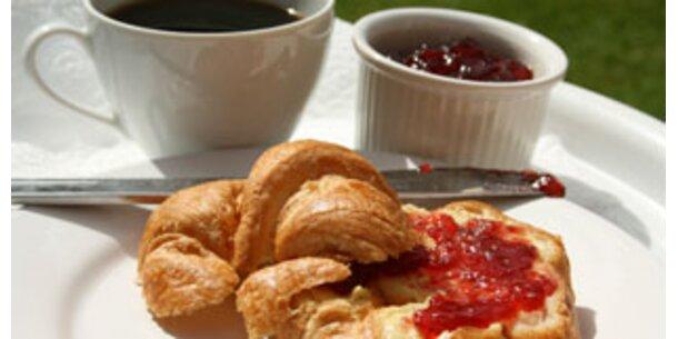 Frühstücken hält schlank