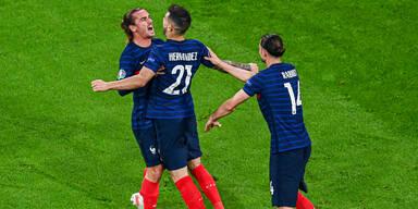 Frankreich - Ungarn