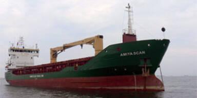 Piraten kapern Frachter vor Somalia