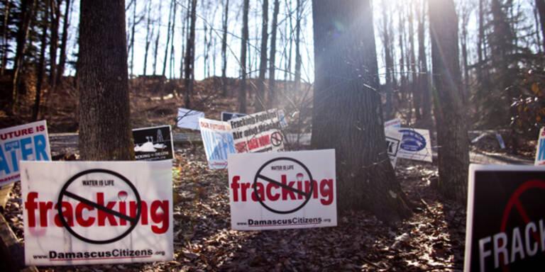 Studie: Ende des Fracking-Booms nahe
